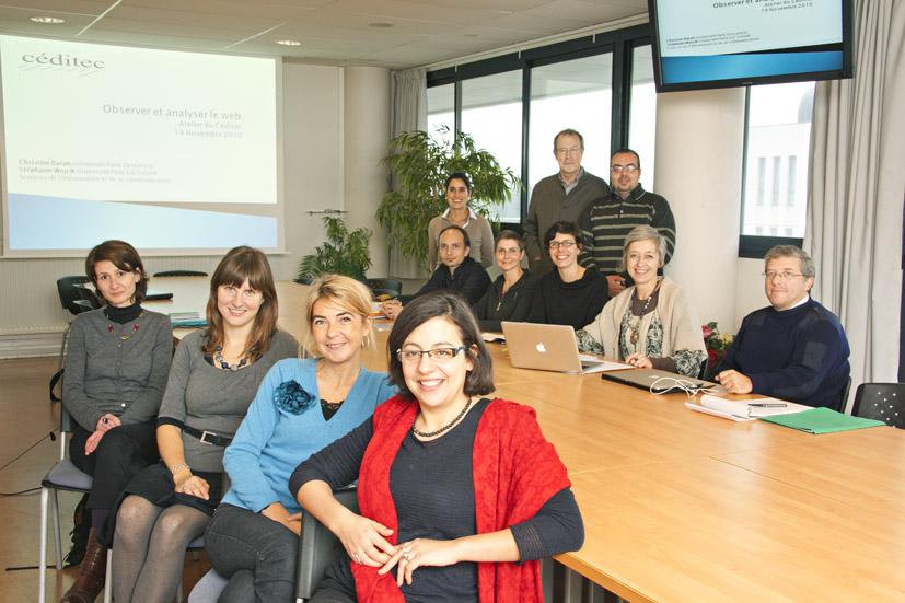 Equipe du laboratoire CEDITEC